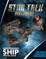 Star Trek Discovery Official Starships Collection Sarcophagus Special Issue cover