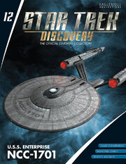 Star Trek Discovery Starships Collection issue 12