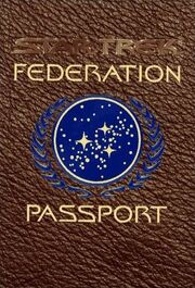 Star Trek Federation Passport