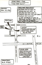 The First Duty location map