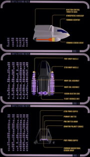 Type 6 shuttlecraft cross section