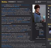 Watley-Artikel mit Sidebar