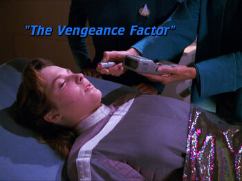 The Vengeance Factor title card
