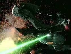 Iks neghvar leads klingon assault