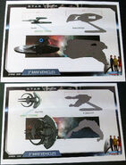 Playmates Star Trek unreleased 3-inch vehicles
