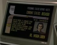 Ro Laren, death certificate