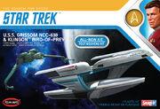 Round2 Polar Lights Model Kit USS Grissom and Klingon Bird of Prey 1-1000 2018