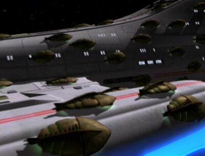 Schwarm auf Voyager