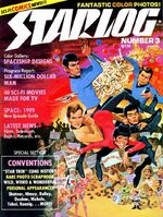 Starlog issue 003 cover