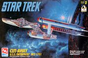 AMT Model kit 8790 Cut-Away USS Enterprise 1996