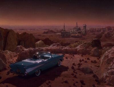 Ein '57 Chevrolet auf dem Mars