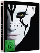 Star Trek Beyond Blu-ray Region B Media Markt Steelbook cover