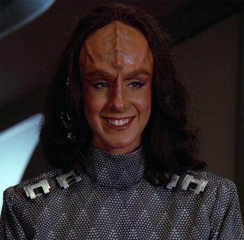 """K'Ehleyr in <a href=""""/wiki/2365"""" title=""""2365"""">2365</a>"""