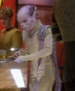 Kobheerian female on DS9, 2369