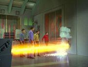 M5 zieht Energie aus dem Warpkern