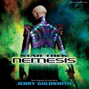 Star Trek Nemesis vinyl cover