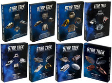 Star Trek Official Starships Collection Shuttle 4-pack