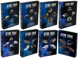 Star Trek Official Starships Collection Shuttle 4-pack