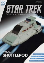 Star Trek Official Starships Collection Shuttle issue 22