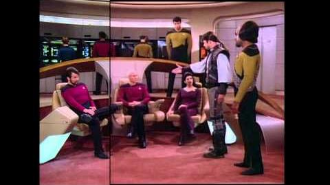 TNG Remastered 2x04 'The Outrageous Okona' Comparison, SD to HD