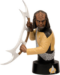 Eaglemoss Official Busts Collection Worf