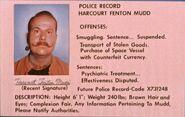 Harcourt Fenton Mudd Polizeiakte