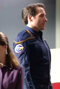 Henry Farnam, filming the final episode of <i>Star Trek: Enterprise</i>