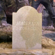 James R Kirk tombstone