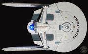 QMx USS Reliant 1-350 Artisan Replica
