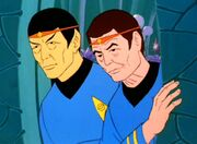Spock and McCoy old
