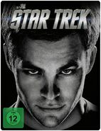 Star Trek 1 disc Blu-ray Region B German Steelbook cover
