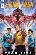 Star Trek Year Five issue 2 cover A