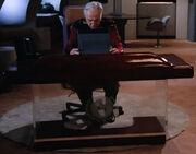 Starfleet desk