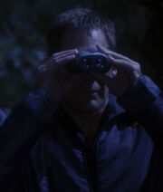 Archer's binoculars