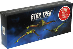 Eaglemoss Klingon Bird-of-Prey 3-pack