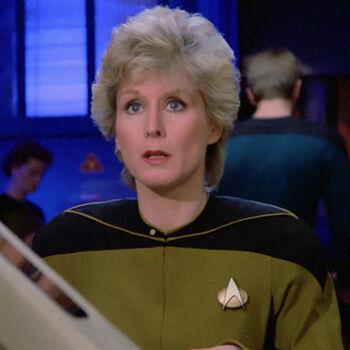 ...as an <i>Enterprise-D</i> engineer