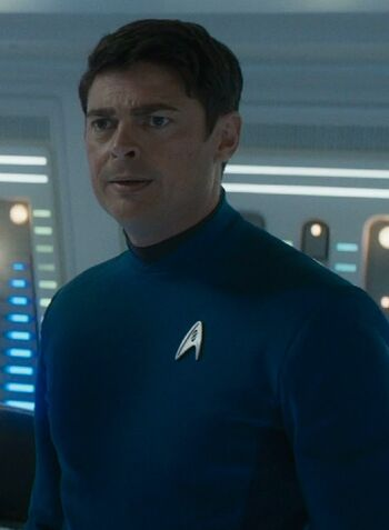 """Doctor McCoy in <a href=""""/wiki/2263"""" title=""""2263"""">2263</a>"""