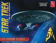 Round2 Model kit AMT955 Enterprise-D Clear Edition 2016