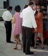 Technicians at snack van