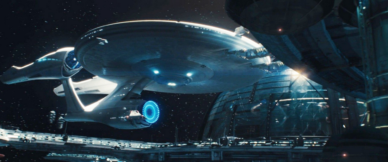 FileUSS Enterprise Docked At Starbase 1