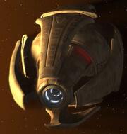 Vissian starship, aft