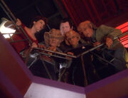 Zek, Rom, Leeta, Nog und Maihardu im Quarks