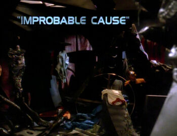 Improbable Cause title card