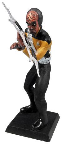 GE Fabbri 5 Worf figurine