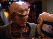 Nog berichtet Quark von seinem Ausflug in den Gamma-Quadranten