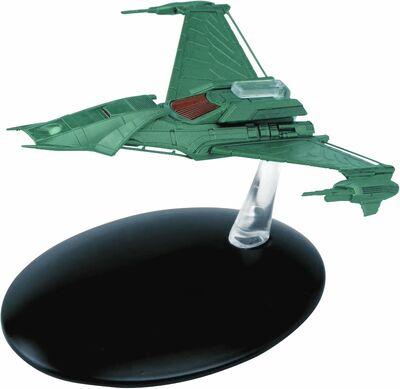 Raumschiffsammlung 53 Klingonisches Augment-Schiff