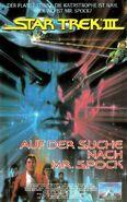 Star Trek III (Kinofassung - VHS Frontcover)