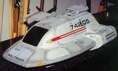 Type 18 shuttlepod with open hatch