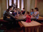 Wesley und Kinder