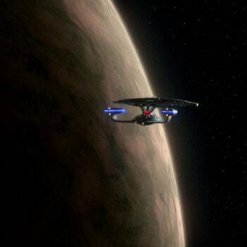 Dessica II from orbit